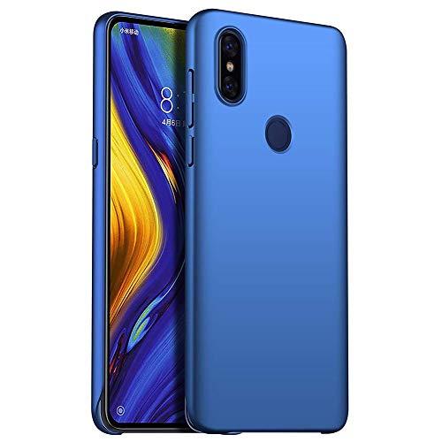 Boleyi Hülle Für Xiaomi Mi Mix 3 5G,[Ultra Slim,Stoßfest,Anti-Kratzer,Leicht,] Schutzhülle PC Harte Hülle Für Xiaomi Mi Mix 3 5G -Blau