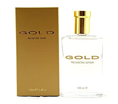 Gold by Parfums Bleu Pre-Electric Shaving Lotion 50ml from Parfums Bleu