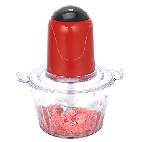 Elektrische groentemolen multifunctionele vleesmolen kookmachine keuken kooktoestel groentesnijder thuis rood