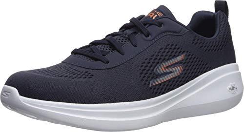 Skechers Men's GO Run FAST-55106 Sneaker, Navy, 7.5 M US