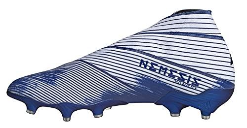 adidas Nemeziz 19+ Firm Ground, Zapatillas de fútbol Hombre, Ftwwht Royblu Royblu, 44 EU