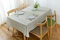 BKPHテーブルクロス北欧テーブルクロスPVC長方形防水、防油、防塵テーブルクロス屋内および屋外のキッチンピクニックテーブル装飾用-B-140x160cm