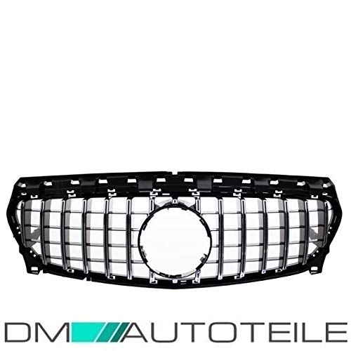 DM Autoteile CLA W117 Kühlergrill Grill Gitter passend für AMG GT Umbau ab 2016