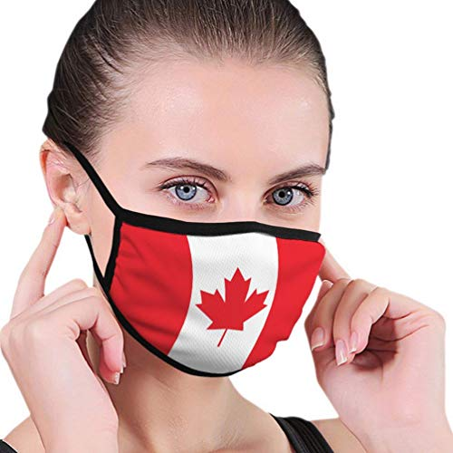 Mouth Scarf,Canada Flag Icon Gesichtsschal, Leichter Mundschutz Zum Schutz Vor AschepollenFacial Scarf,Canada Flag Icon Face Scarf,Lightweight Mouth Protection For Protection From Ash Pollen,17.5x12cm