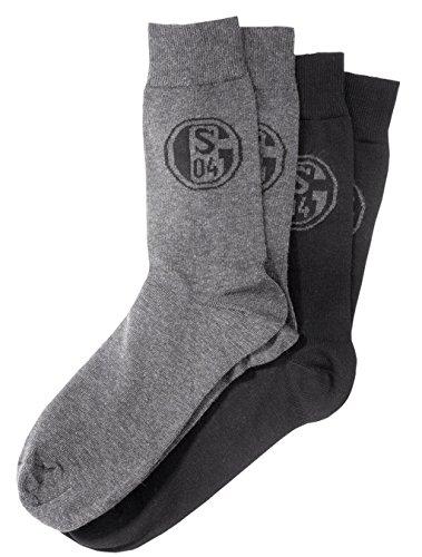 FC Schalke 04 Business Socke 2er Pack Gr. 43-46