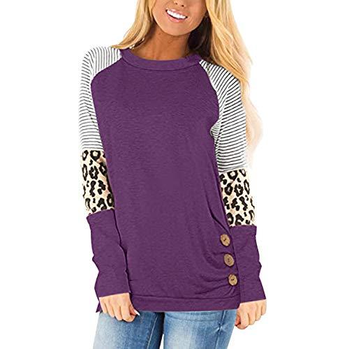 TWIFER Mode Damen Langarmshirt Sweatshirt Jumper 2018 Pullover Trägerlosen Sweater