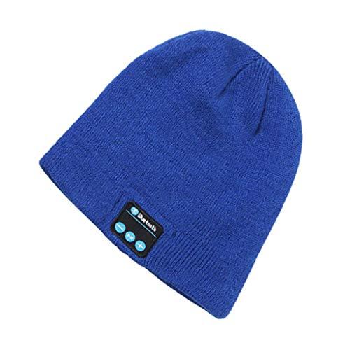 Bluetooth beanie muts 5.0 draadloze hoofdtelefoon winterwarme gebreide muts hoed stereo USB opladen 2 uur stem continue gesprekstijd 4-6 uur beste cadeau voor dames outdoor sporten geschikt