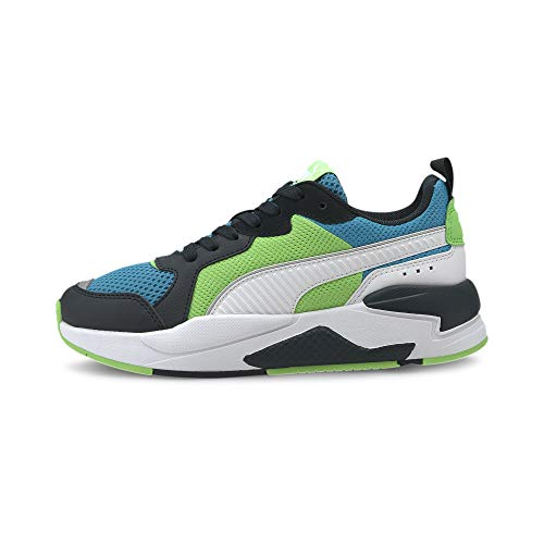 PUMA X-Ray JR, Sneaker, Ultra Gray White Black Dresden Blue, 39 EU