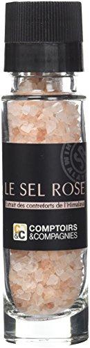 COMPTOIRS ET COMPAGNIES Moulin de Sel Rose Cristaux 100 g