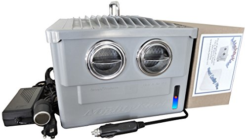 MightyKool The K2 is not an Air Conditioner, as we Need to Know What 12-Volts Needs to do for You; as Times it Will not Cool for Your Needs. H