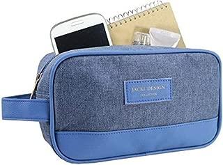 Necessaire Elegante Estojo Executivo Viagem Academia Mala Bolsa Mala Marca Jacki Design Cor: Azul