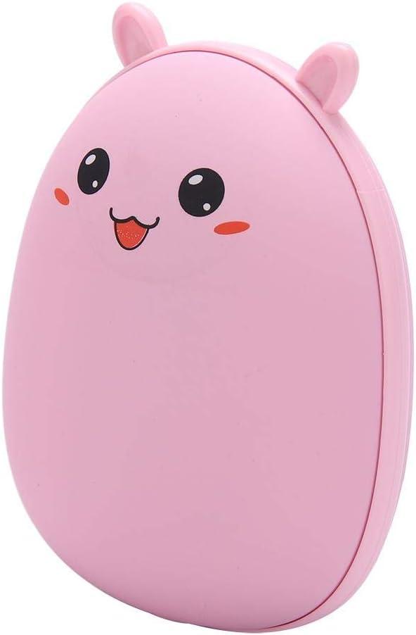 Pink Rabbit Riscaldatore Tascabile elettronico Riscaldamento rapido awstroe Scaldamani Portatile USB Scaldamani Tascabile Elettrico per Uso Domestico