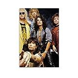 GHJH 40 Aerosmith Leinwand-Kunst-Poster und Wandkunstdruck,