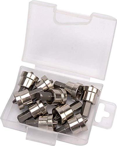 Draper 26457 10 Piece Cross Slot No.2 Drywall Dimpler Set.
