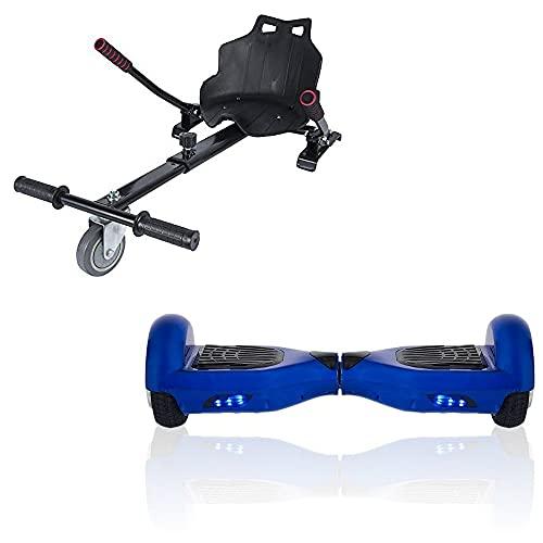 """ACBK Hoverboard Tango con Kart Silla, Juventud Unisex, Azul, Ruedas 6.5"""""""