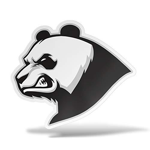 erreinge Sticker Panda SX Adesivo Sagomato in PVC per Decalcomania Parete Murale Auto Moto Casco Camper Laptop - cm 10