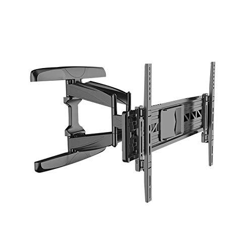 YLB Montajes de pared de TV Monte en la pared Soporte de TV con brazos de articulación giratorios duales, soportes de pared de TV - Montaje de pared de TV de movimiento completo para 55 60 65 Pantalla