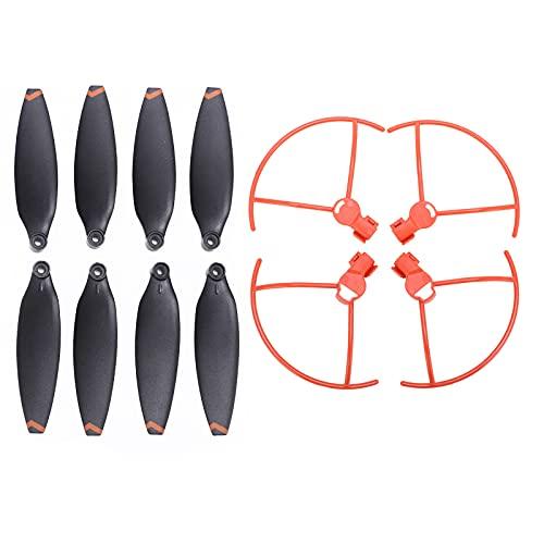 VGEBY Coperture Protettive della Lama del Drone, Coperture Protettive della Lama Dell'elica con Eliche Compatibili con i Droni FIMI X8 Mini RC(Arancia)
