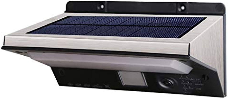 YNEQHOSJB Solar Wandleuchte im Freien wasserdichte 21 LED Smart Lichtsteuerung Garten Garten Lichter 3 Beleuchtungsmodi