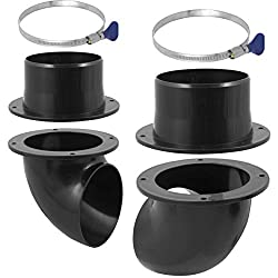 professional A 4-inch cyclone vacuum cleaner dust box kit, such as a drum trash can …