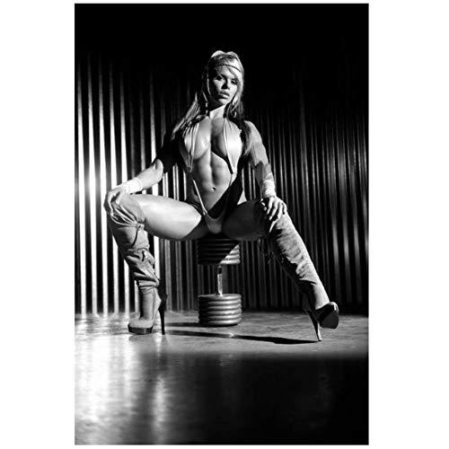 Larissa Reis - Bodybuilder Fitness Model Dekoration Geschenk Auf Leinwand drucken Auf Leinwand drucken - Kein Rahmen