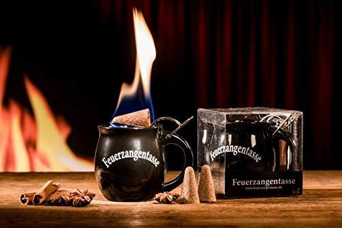Feuerzangentasse 1er-Set, Schwarz - für Feuerzangenbowle