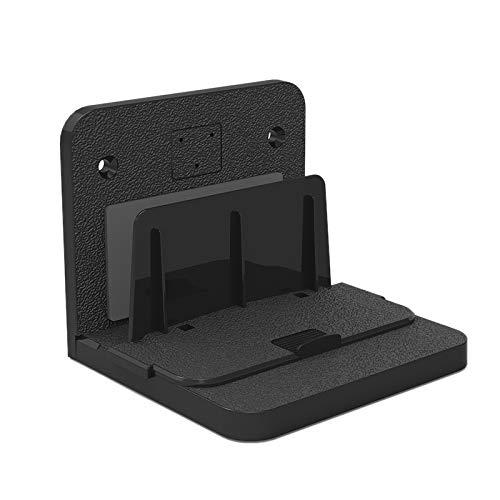 NEYOANN Soporte de Montaje en Pared, Soporte de Set-Top Box/Enrutador/MóDem óPtico/Interruptor/Dispositivo de Pantalla InaláMbrico Soporte de Pared Universal Negro