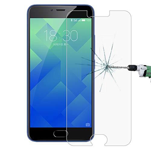 Nueva Tangyong 100 PCS for Meizu M5 0.26mm 9H Dureza Superficial 2.5D a Prueba de explosiones de la Pantalla de Cristal Templado de Cine
