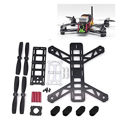 hnsgscmyyxgs per FPV. Kit Cornice per droni da Corsa, Mini Cornice con Scheda di distribuzione PORTATO Drone Shell Quadcopter. QAV250. Fibra di Vetro da 250mm da 250mm