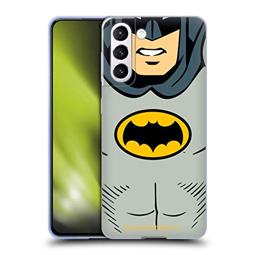 Head Case Designs sous Licence Officielle Batman TV Series Costume Logos Coque en Gel Doux Compatible avec Samsung Galaxy S21 5G