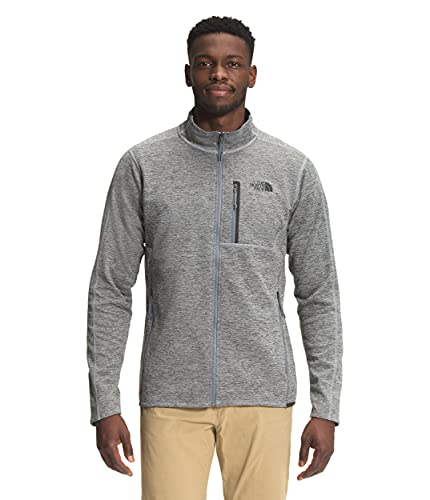 THE NORTH FACE Canyonlands Sweat-Shirt Homme, Gris (TNF Medium Grey Heather), X-Large