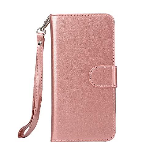 Funda protectora Para Samsung Galaxy S6 Cartera de cuero, estuche de teléfono de tarjetas de crédito, caja de tragamonedas Tipo de soporte, caja de teléfono móvil y caja de pulsera desmontable, adecua
