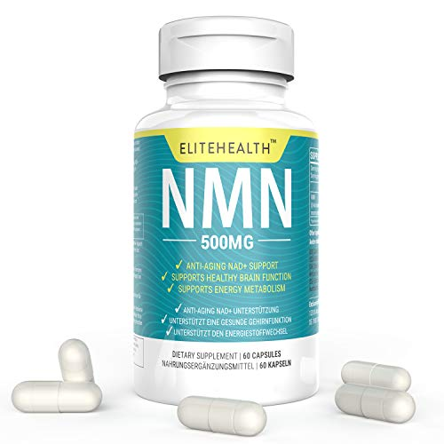 41J jxwmK5L - One Bottles PUREST NMN for NAD Support | 60 Grain |Each Capsules 250mg | Supplement for Anti-Aging & Energy Metabolism | Vegan Friendly (1 Pack)