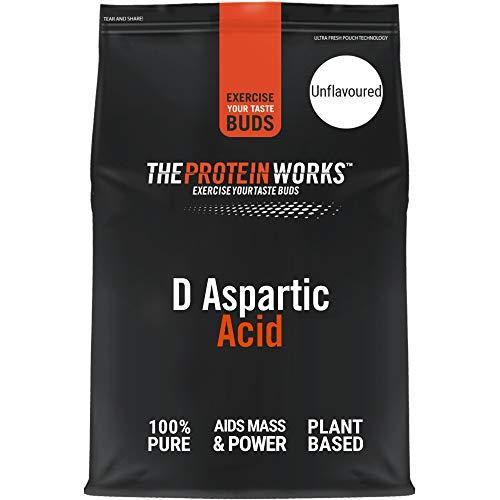 Ácido D-Aspártico   Sin sabor   100 g   Mejora la fuerza, la energía y los músculos