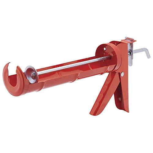 Pistola Aplicadora de Silicone Uso Leve Worker Vermelho