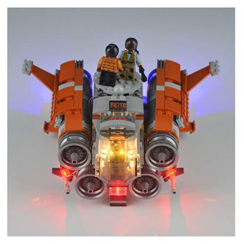HLGQ LED-Licht-Kit Für (Kylo Ren Command Shuttle) Building Blocks Modell - Led Light Set Kompatibel Mit Lego 75178 (Das Modell Nicht Im Lieferumfang Enthalten)