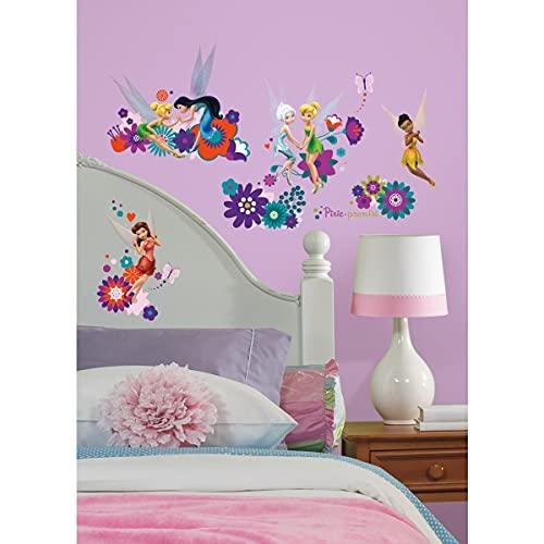 Stickers Repositionnables la Fée Clochette et Ses Amies, Personnages de Disney