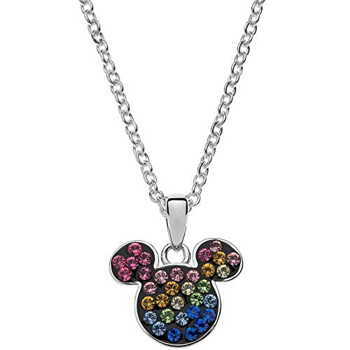 Disney Mickey Mouse Mickey Mouse Silver Necklace C901370SRML-B