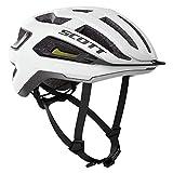 SCOTT 275192 - Casco de Bicicleta Unisex para Adultos, Blanco/Negro, Talla M