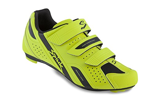 Spiuk Rodda Road - Zapatillas Unisex, Color Amarillo/Negro, Talla 45