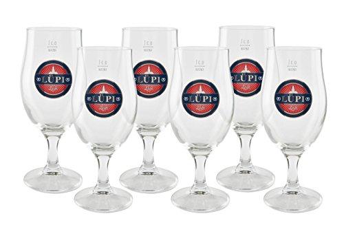 6 original Lüpi exclusiv Pokale 0,3l Gastro Edition Pokal