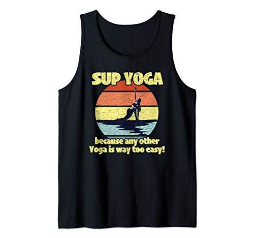 Yoga SUP Paddleboarder Gift Idea Tank Top