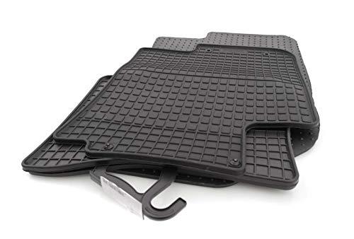 kh Teile Gummimatten i20 Passform Gummi Fußmatten Set 4-teilig schwarz