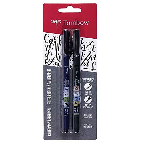 Kit Caneta-Pincel, Fudenosuke Brush Pen, Blister com 2 Canetas-Pincel