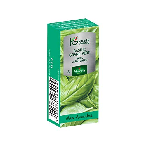 Vilmorin - Kitchen Gardening - Basilic grand vert