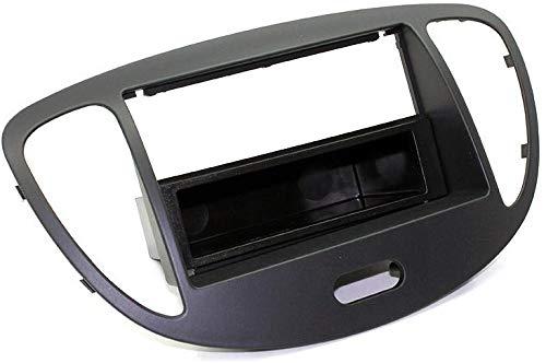 Mascherina per Montaggio AFTERMARKET AUTORADIO Hyundai I10 Fino al 2013 (Nero)