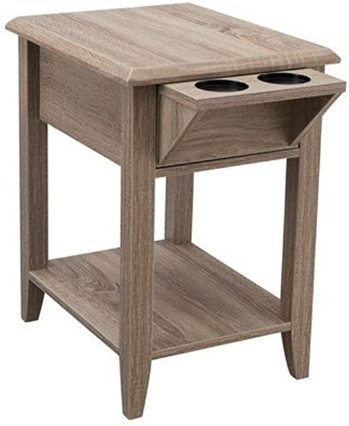 Indoor Multi Function Accent Table Study Computer Home Office Desk Bedroom Living Room Modern Style End Table Sofa Side Table Coffee Table Storage Chair Side Table