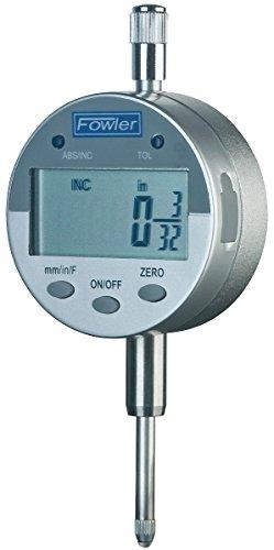 "Fowler 1""/25mm Indi-X Blue Electronic Indicator, Full Warranty, Direct Inch/Metric conversion, 54-520-250-0"