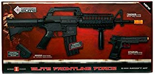 Crosman 50030 Elite Front Line Force Airsoft Rifle and Pistol Kit