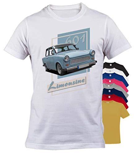 BuyPics4U T-Shirt mit Motiv Trabant Tr45 100% Baumwolle für Herren Damen Kinder viele Farben